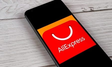 AliExpress on smartphone