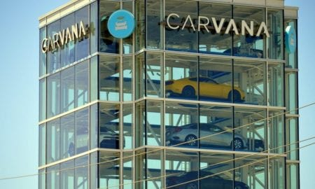 Carvana car vending tower
