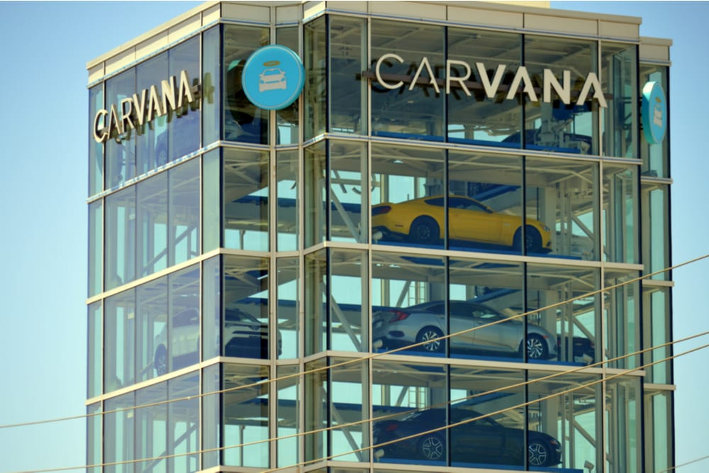 Online Car Buying Co Carvana Adds New Financing Option
