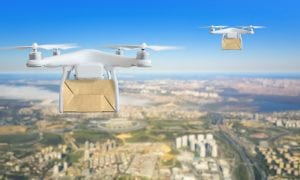 Drone Delivers Healthcare Supplies To Island