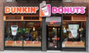 Dunkin' Donuts storefront
