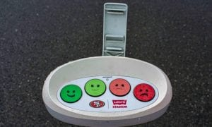 customer feedback terminal