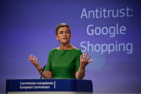 EU Antitrust Chief Vestager Is Reappointed