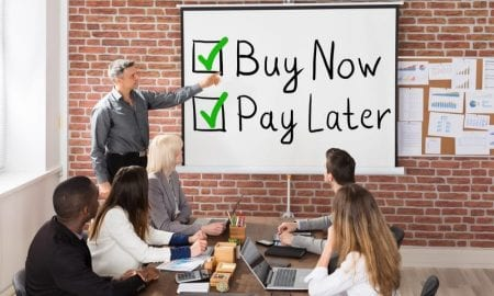 Buy Now Pay Later instructor with students