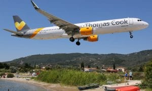 Thomas Cook airplane