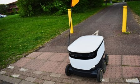 autonomous delivery vehicle