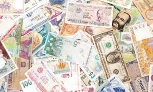 cash of many currencies