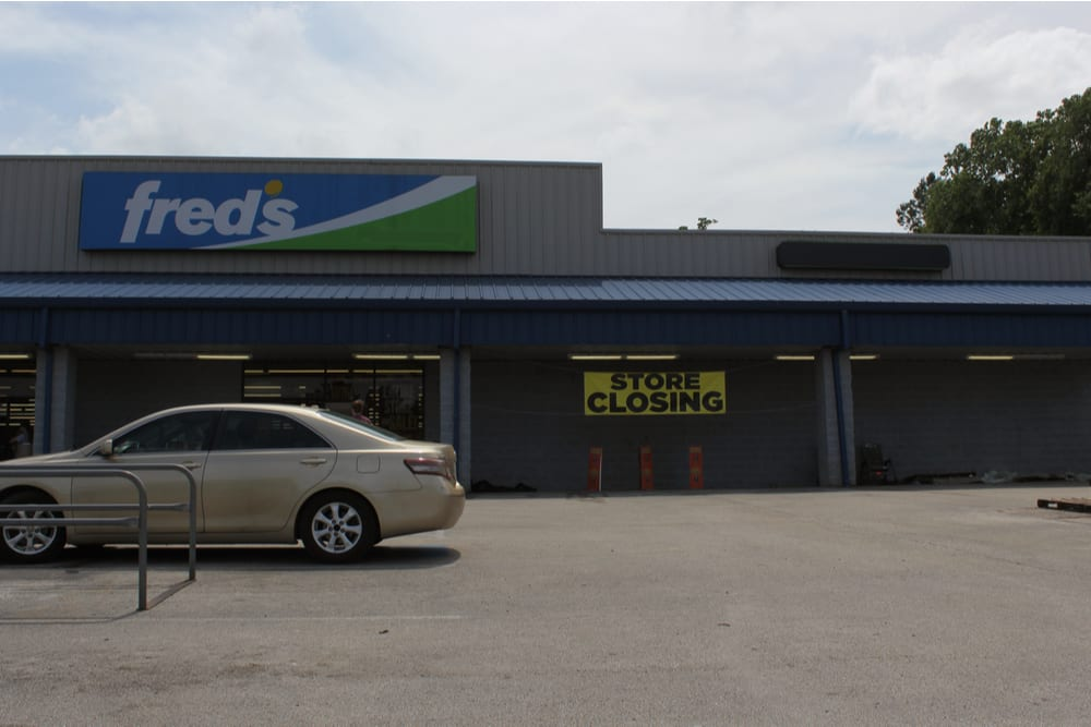 Discount Retailer Fred's To Shutter Stores
