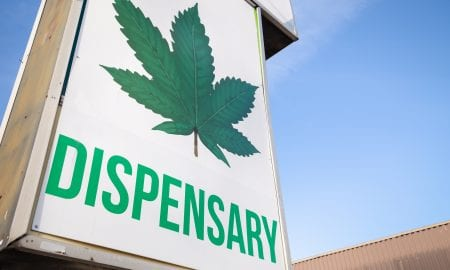 marijuana dispensary sign