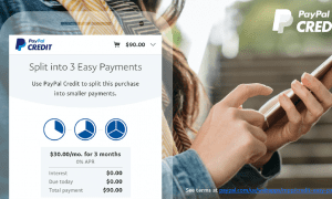 PayPal Lowers Installment Credit Threshold