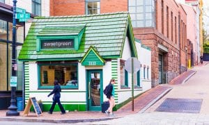 sweetgreen, restaurant, disruptor, funding, delivery, online ordering