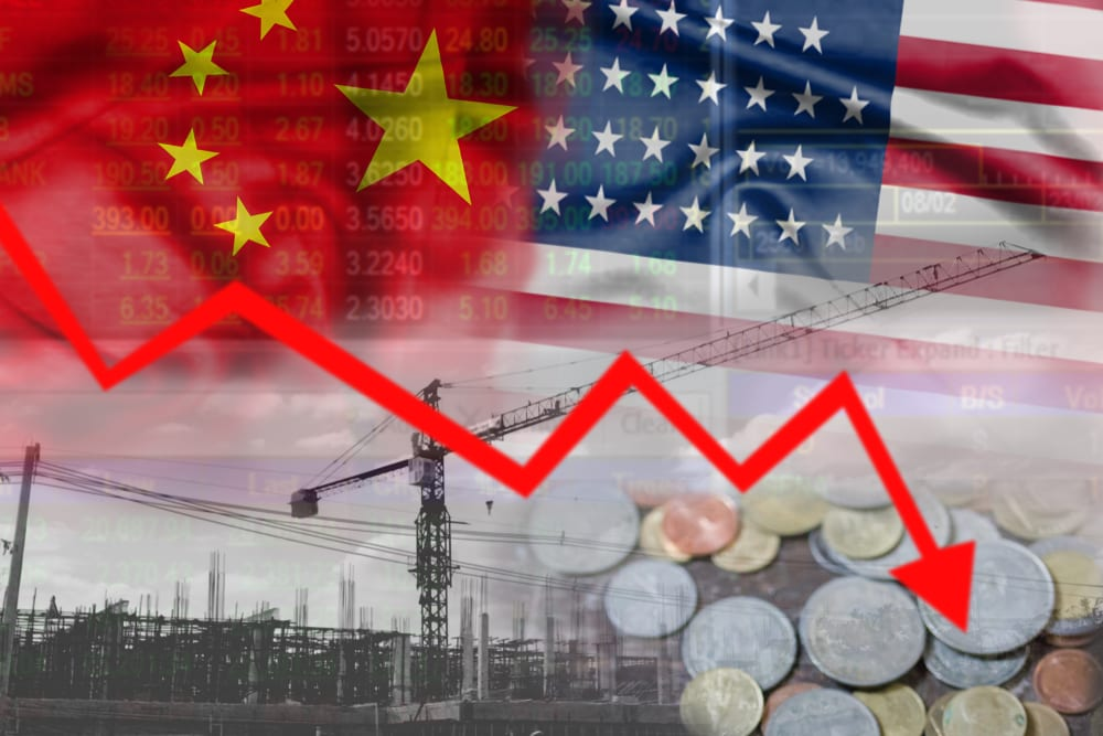 Chinese Stocks Fall On Talk Of US Investment Curbs