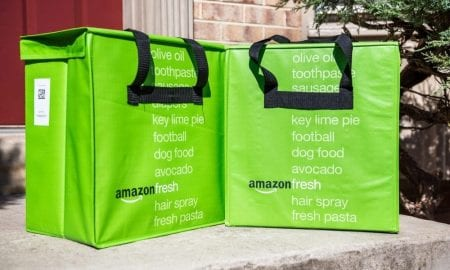 Amazon grocery delivery bags