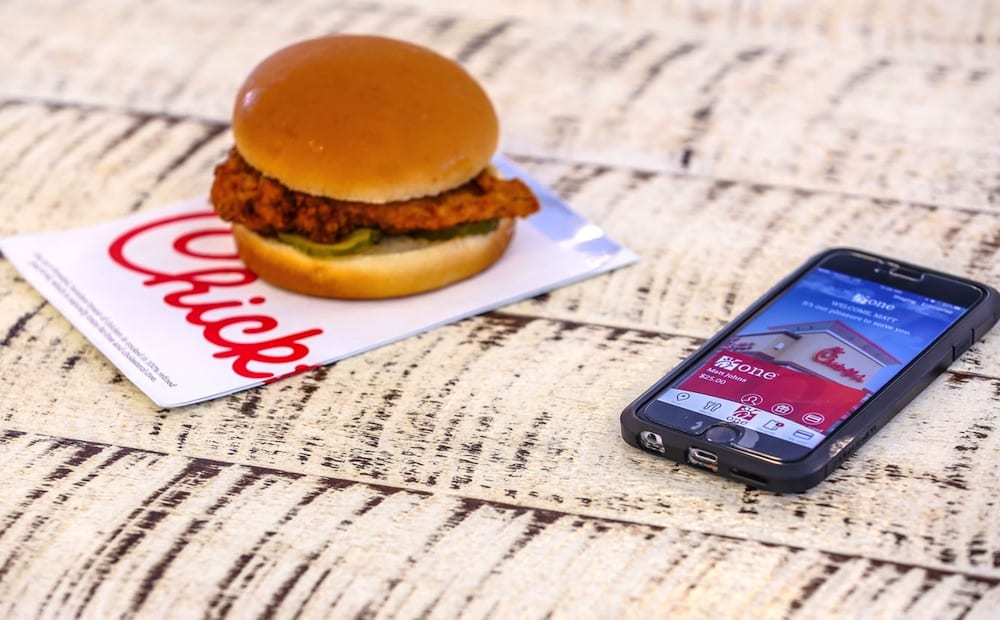 mobile order ahead to dine in