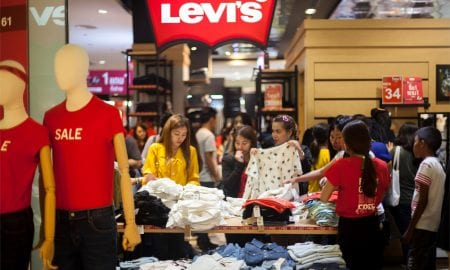 Levi's store in China