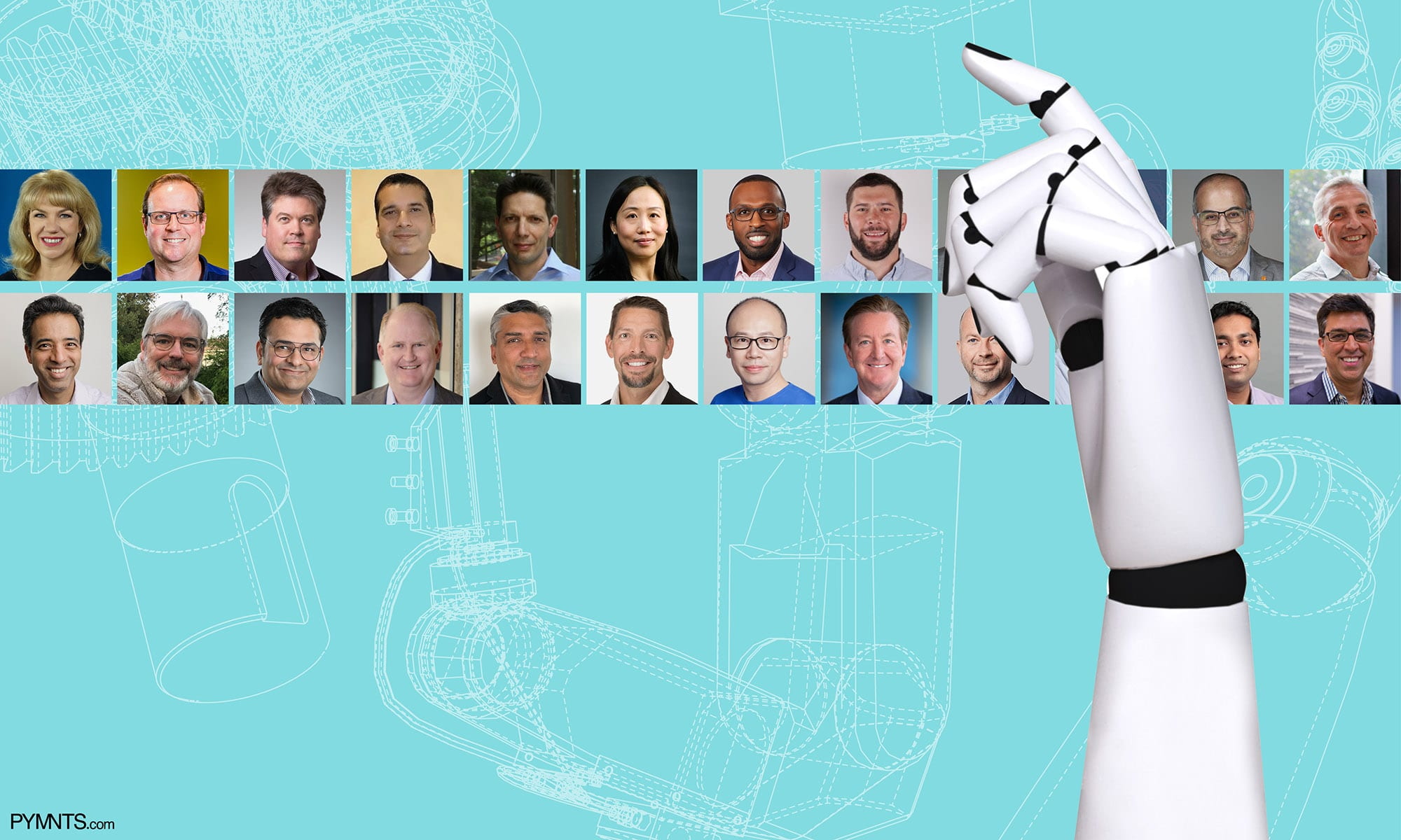 22 Payments Execs, Thinking – With Real Intelligence – About Artificial Intelligence