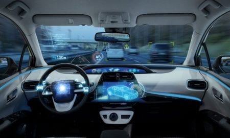 self-driving car dashboard