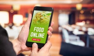 smartphone mobile food ordering