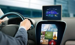 connected car dashboard