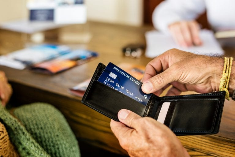 hotel check-in payment