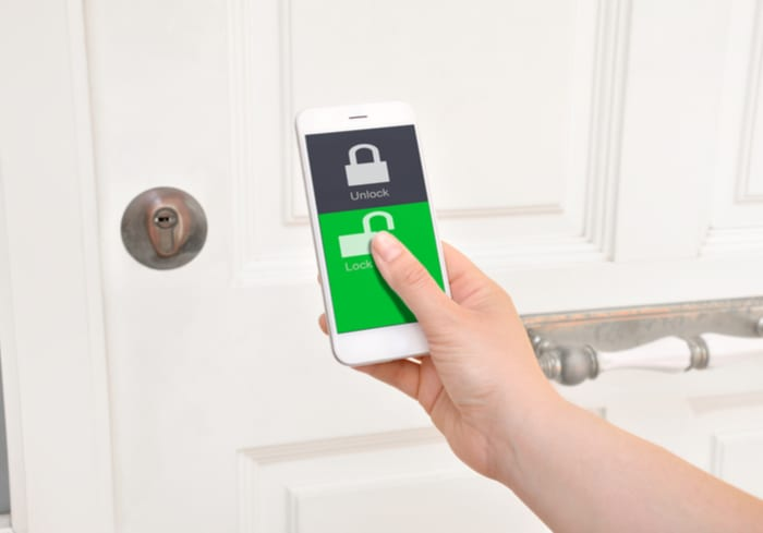 Walmart helps fund $71M VC raise for smart lock company