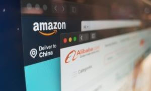 Amazon eCommerce site Alibaba