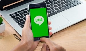 Line App and Yahoo Plan Merger
