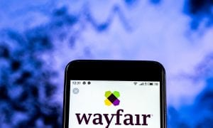 Wayfair mobile app