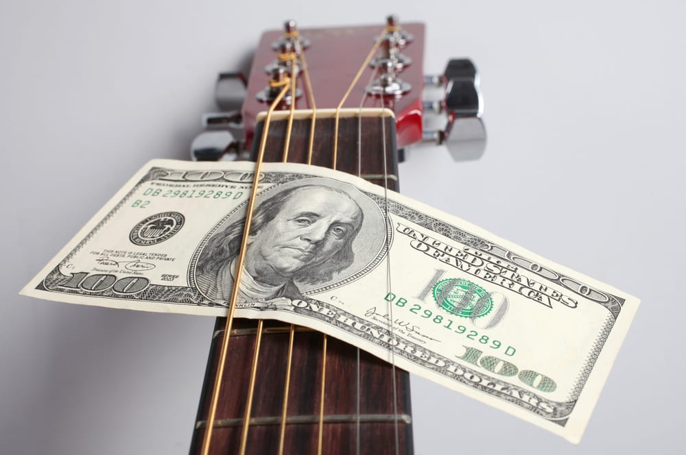 cryptocurrency to pay musicians