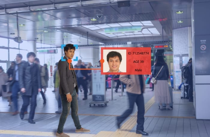 facial recognition scan airport