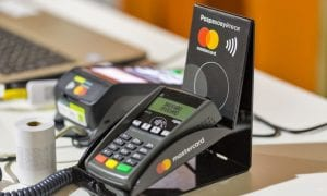 Mastercard payment POS