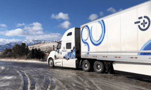 Self-Driving Truck Hauls 40K Pounds Of Butter