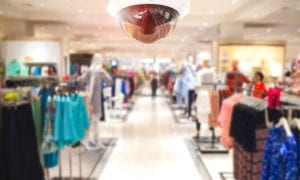 in-store security camera