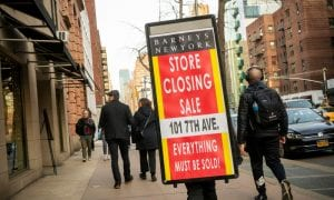 barneys, bankrupt, luxury retail, staff, paychecks, cyberattack, hacker, news