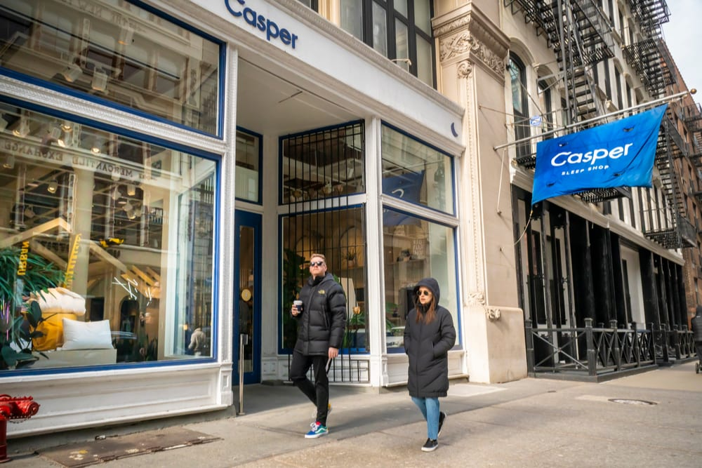 Casper IPO Ends Day At 13 Pct Above Asking Price