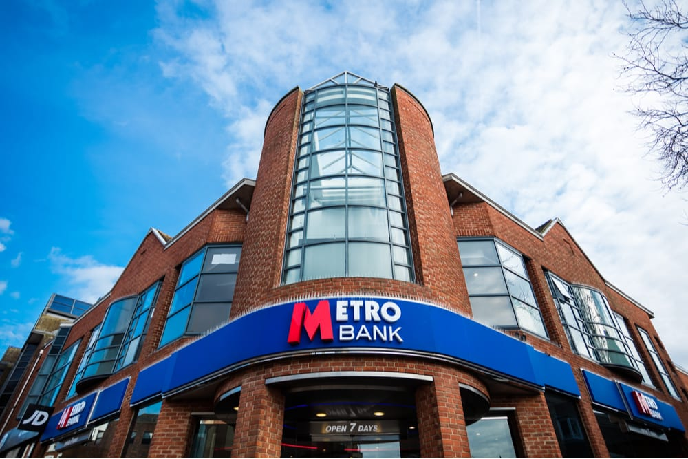Metro Bank Moves Away From Mortgages