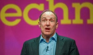 Sir Tim Berners-Lee, startup, Inrupt, internet, world wide web, decentralized, data, control