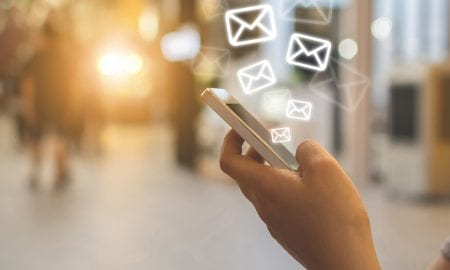 email marketing on smartphone