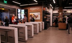 Amazon, Go, Just Walk Out Technology, Merchants, cashierless,