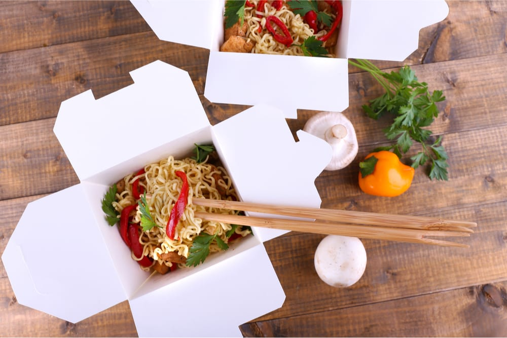takeout restaurant food