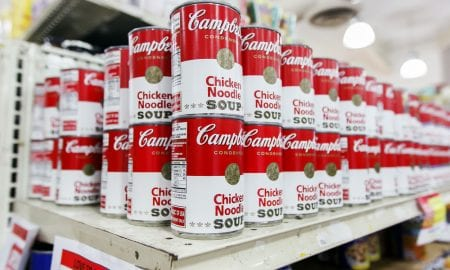 US consumers stock up on soup