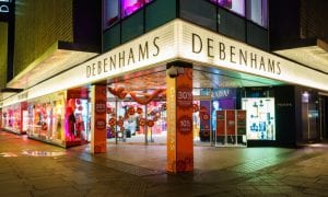 UK Department Store Group Debenhams Requests Five-Month Rent Freeze