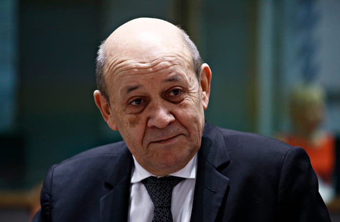 Jean-Yves Le Drian, paris, france, impersonation, fraud