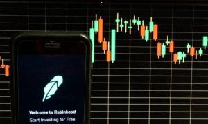 Robinhood stock trading app