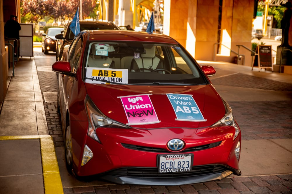 Lyft, Uber Pay Big Money To Defeat AB5 Supporter