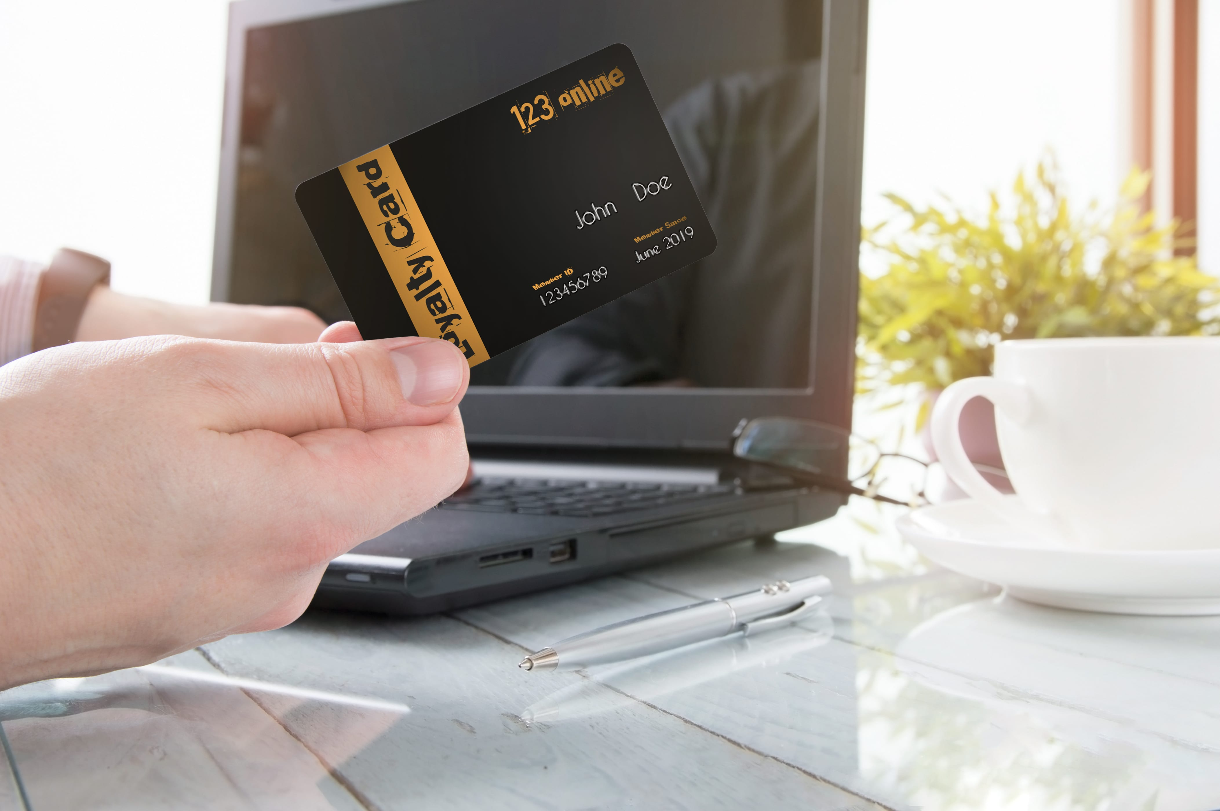 loyalty card online shopping