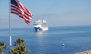 cruise ship US flag