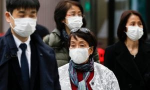 Japan Quarantines China, South Korea Travelers