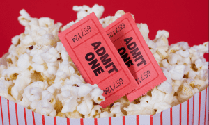 Movie theater sales are at a low due to the coronavirus pandemic