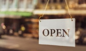 retail open sign